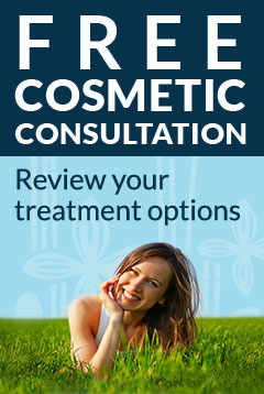 Free Cosmetic Consultation! Review your treatment options. Click here and learn more.